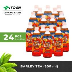 ITO EN Barley Tea Unsweetened Teh Jelai Jepang 500ml No Sugar - 24 pcs
