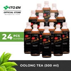 ITO EN Oolong Tea Unsweetened Teh Oolong Jepang 500ml No Sugar - 24 pc