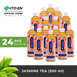 ITO EN Jasmine Tea Unsweetened Teh Melati Jepang 500ml - 24 pcs