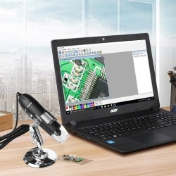 Digital Microscope 1600x USB Mikroskop LED Magnifier Windows Android