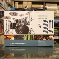 Audio Technica MBDk7 7 microphones drum pack Original