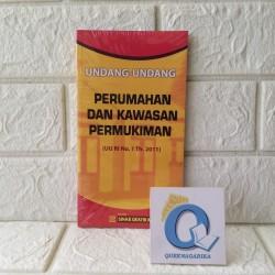 Buku Undang Undang Perumahan dan Kawasan Permukiman 2011