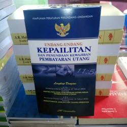 undang undang KEPAILITAN dan penundaan kewajiban pembayaran utang
