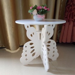 Meja Sudut Coffee Table Meja Ngopi KUPU KUPU Interior Rumah Apartemen