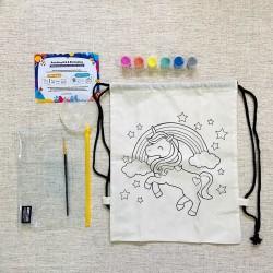 Painting Kit String Bag - Unicorn