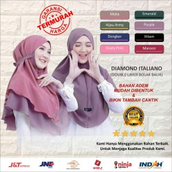 MARYAM DUA LAYER KOMBINASI | BERGO DUA LAYER | JILBAB MARYAM 2 LAYER