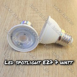 Lampu Sorot Spot COB E27 7W 7 Watt Ulir - Spot Halogen 7watt