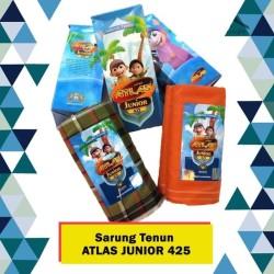 ECER/GROSIR Sarung Tenun Anak Atlas Junior