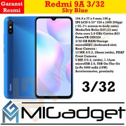 Xiaomi Redmi 9A 3/32 Garansi Resmi