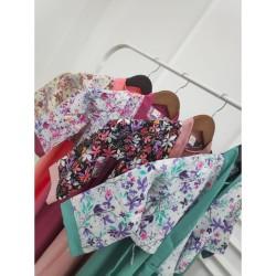 CANTIK Gamis Hanbok Korea Baju Anak Perempuan Lengan Panjang