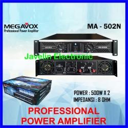 Power Amplifier MEGAVOX MV MA-502 / MA502 Original