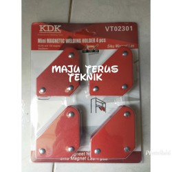 Mini Siku Magnet Las set 4 pcs KDK