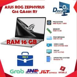 "Asus ROG Zephyrus G14 GA401iH Ryzen 7 4800 16GB 512ssd GTX1650 4GB 14"""