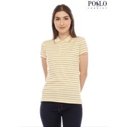 [POLO COUNTRY] POLO SHIRT STRIPE / SALUR WANITA - 4288