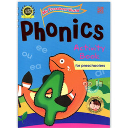 My Preschool World - Phonics Activity Book 4