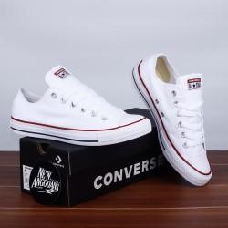 Sepatu Converse CT All Star Classic All Full White Putih Polos Ox Low