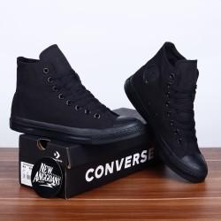 Converse CT All Star Basic Classic Full All Black Hitam - Ori PREMIUM