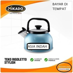 Maspion Teko Bunyi Whistling Kettle Rigoletto 2.5Liter (color Random)