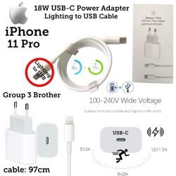 Power Adaptor USB-C TO Lighting Iphone 11/11pro/11pro Max Original