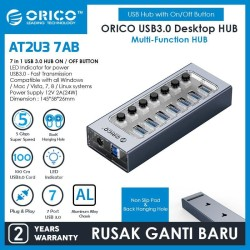 ORICO 7 Port USB Hub With Individual Switches - AT2U3-7AB