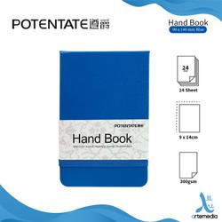 POTENTATE Hand Book Watercolor 90x140mm 300sgsm Kertas Buku Cat Air