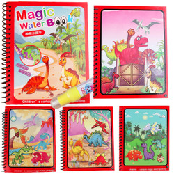 Magic Water Book - Buku Gambar Anak - Mainan Mewarnai - DINO