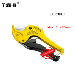 TNI-U TU-6301E Dual Colors Pipe Cutter Handle Cutting Tool Ratcheting