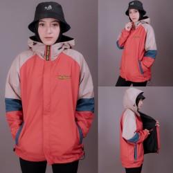 jaket parasut parka pria wanita jacket outdoor mountain original 3D