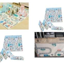 Karpet / Matras / PlayMat Lipat Tebal 1 cm XPE untuk Bayi Merangkak
