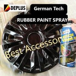 O0360 Rubber Paint Cat Karet Semprot Velg Ban dan Body Mobil Motor