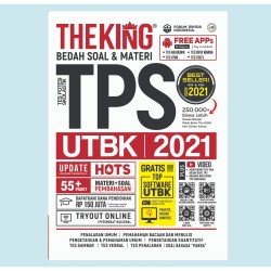 Buku The King Bedah Soal & Materi TPS UTBK SBMPTN HOTS 2021