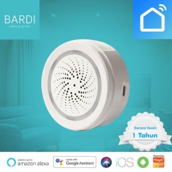 Bardi Smart Home Wifi Siren Loud Alarm Android/iOS Security System