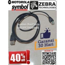 KABEL USB BARCODE SCANNER SYMBOL LS 2208 / LS 1203 / 1D 9208