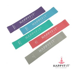 HAPPYFIT RESISTANCE LOOP BANDS - X-HEAVY PURPLE