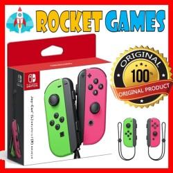 Nintendo switch - Joycon (L/R) - Neon Green / Neon Pink