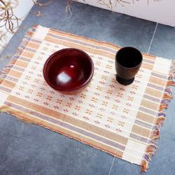 Liopo | placemat alas meja makan tatakan piring 50x35 cm kain besar