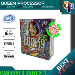 PROCESSOR Intel Core i9 10850K 3.6Ghz Cache 20MB [Box] LGA 1200