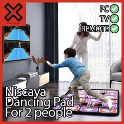 Niscaya Dancing Pad for 2 people Non Slip - Karpet Step Dance Mat DDR