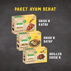 Paket Ayam Sehat GREEN BUTCHER by Burgreens | Vegan Frozen