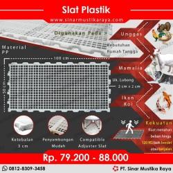 Slat Plastik - Pijakan / Alas Kandang Untuk Anjing Kucing Kambing