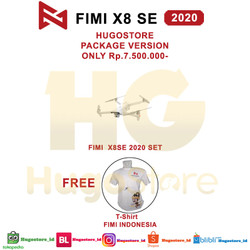 XIAOMI FIMI X8SE 2020 VERSI BARU LIVE STREAMING 8KM 4KHDR 35mins DRONE