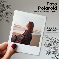 FOTO POLAROID DESAIN SENDIRI CUSTOM - MINIMAL ORDER 3 PCS