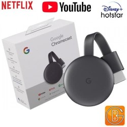 Google Chromecast 3 Chrome Cast 3rd HDMI Streaming
