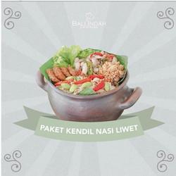 Paket Kendil Nasi Liwet Bali Indah Catering