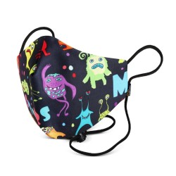 Masker Kain 3 Ply Monster Born And blessed