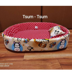 Kasur kucing jumbo ukuran 55 x 45 free Bantal. Kimo Pus - Pet Bed