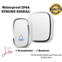 Bel Rumah Anti Air Wireless Door Bell Waterproof Bel Pintu Tanpa Kabel