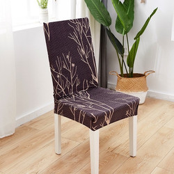 Elastic Chair Cover Shabby / Penutup Sarung Kursi Bangku Elastis