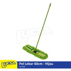 Lucsa Pel Lebar 60cm - Alat Pel Sapu Lantai Lobby Dust Mop