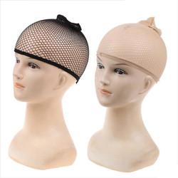 wig cap hairnet wig net hair net wigcap jaring kepala rambut wig - HITAM KEMASAN